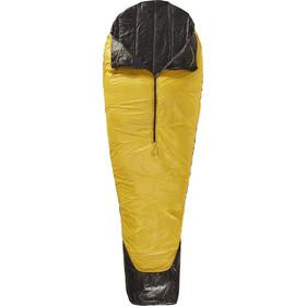 Nordisk Oscar +10° Sacco a pelo L, mustard yellow/black